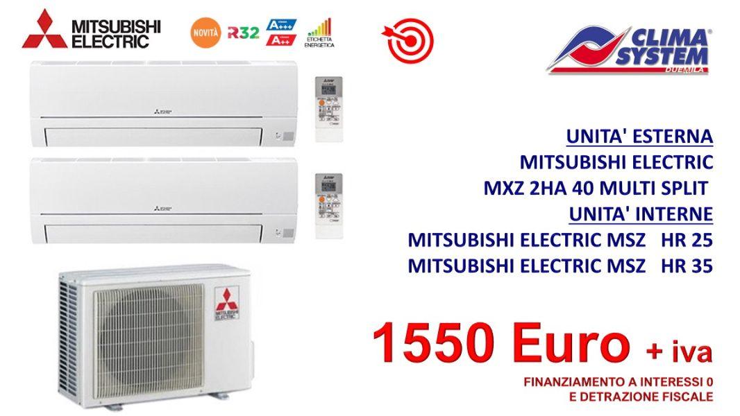climatizzazione-electric-mxz-2ha-40-multi-dual-split-2-unita-mitsubishi-electric-msz-hr-25-mitsubishi-electric-msz-hr-35