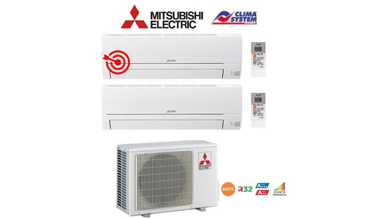 climatizzazione-electric-mxz-2ha-40-multi-dual-split-2-unita-mitsubishi-electric-msz-hr-25-mitsubishi-electric-msz-hr-35