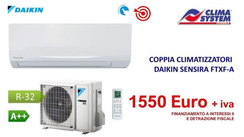 coppia-climatizzatori-daikin-sensira-ftxf-a-modello-2019-9000-e-12000-btu
